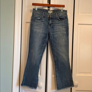 Cropped Current / Elliot Jeans